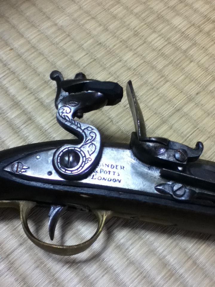 フリントロック銃
