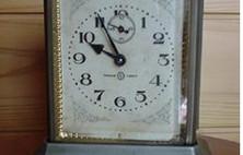 大正時代の時計を手に入れました。