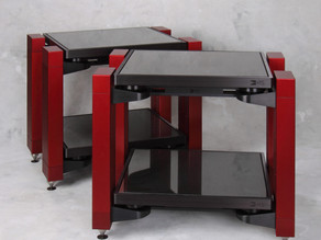 HRS VXR Stand, Vortex and Helix Footers, and DPII Damping Plate review by Absolute Sound