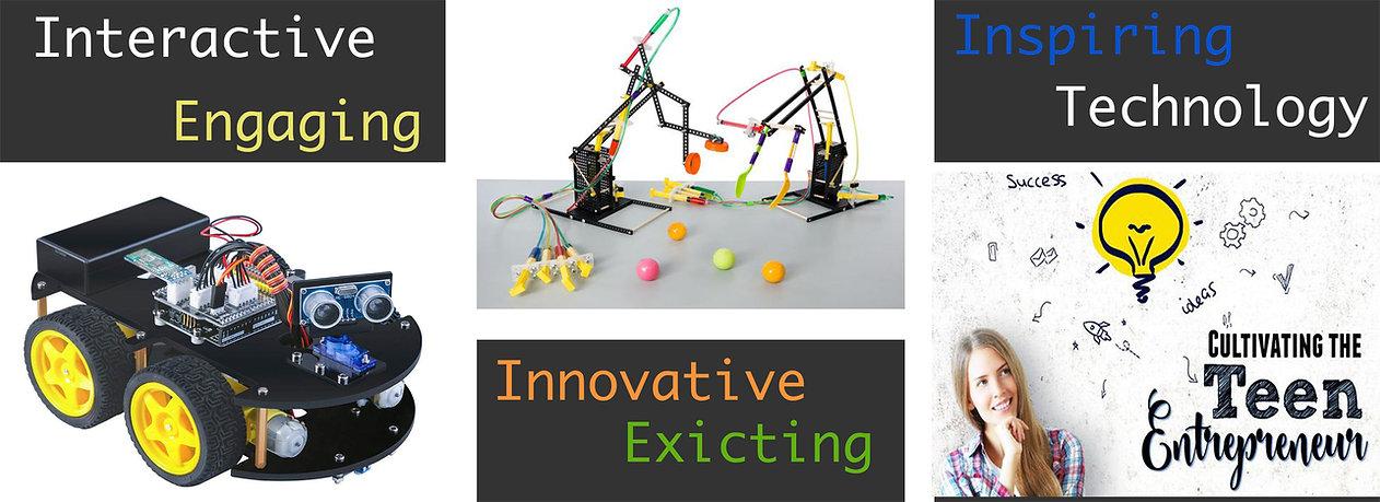 STEM4Kids STEM Tech Computer Summer Camps Robotics Programming Coding JAVA Python c++ JavaScript We
