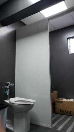 Particiones PVC para ducha