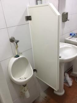 particion baño pvc maxi 5