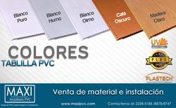 Color Tablilla PVC