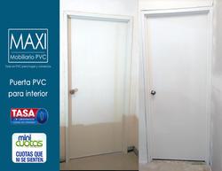 puerta blanca lisa pvc