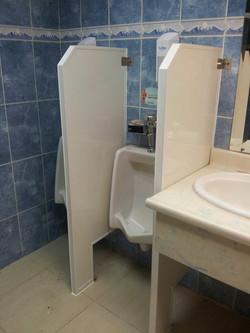 division urinaria pvc