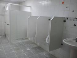 division urinaria pvc hecho en costa