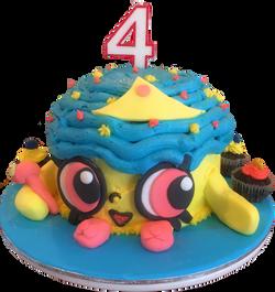 Shopkins Character Birthday Cake
