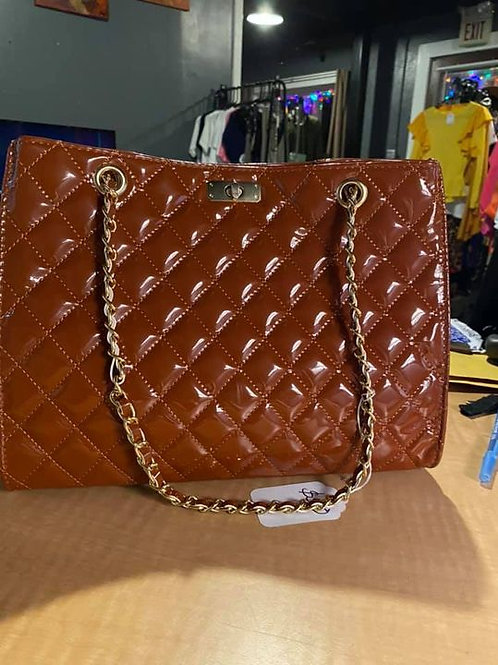 CHOCOLATE QUILTED