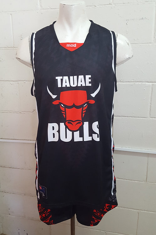 2019 Tauae Bulls Singlet