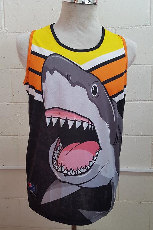 2019 Sharks Singlet
