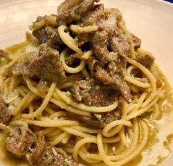 Spaghetti Straccetti di Manzo
