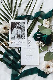 fresno wedding photographer wedding flatlay wedding photography emerald wedding