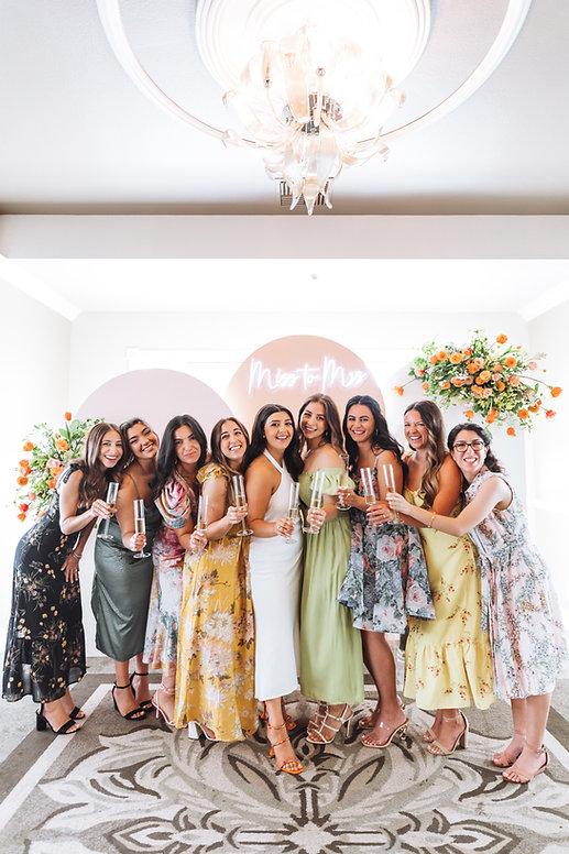 orange aesthetic bridal shower inspiration inspo bridal shower photography