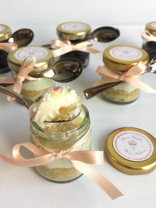 Mini Vegan Cake Jars