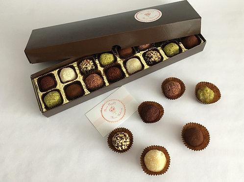 Vegan Chocolate Brigadeiro Truffles Gift Box