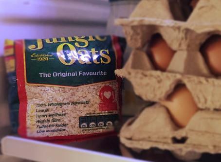 Oats in the fridge