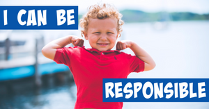 young boy saying he can be responsible
