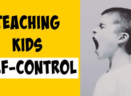 5 Ways to Teach Kids Self-Control