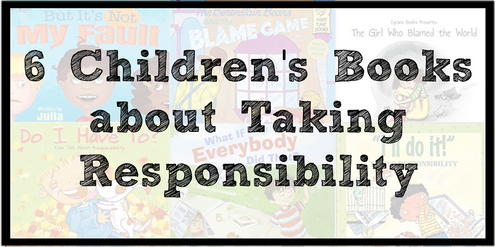 children's books about taking responsibility