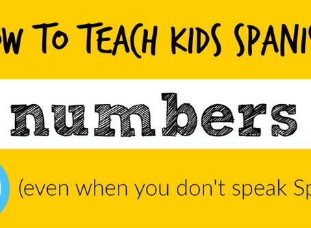 Teaching Kids Numbers in Spanish
