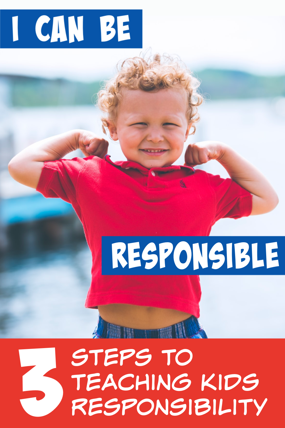 3 steps to teaching kids responsibility