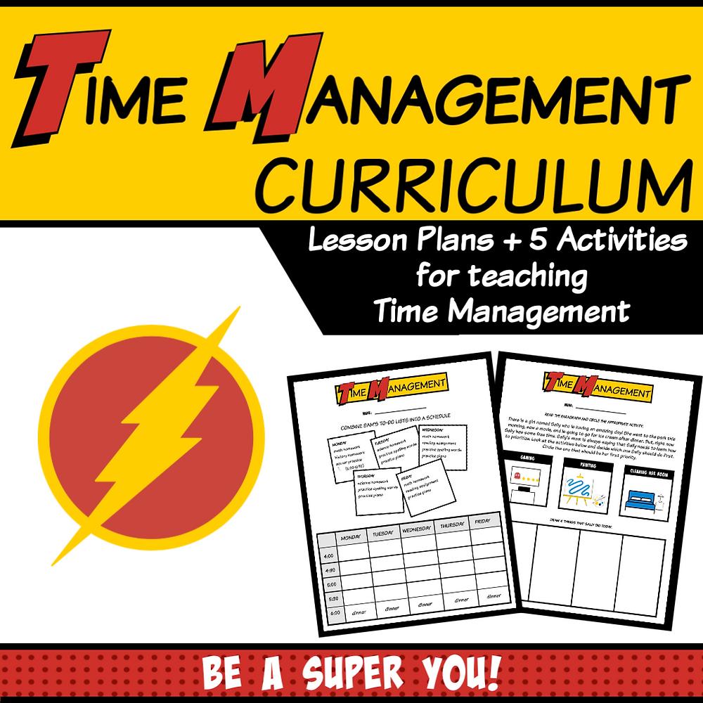time management curriculum