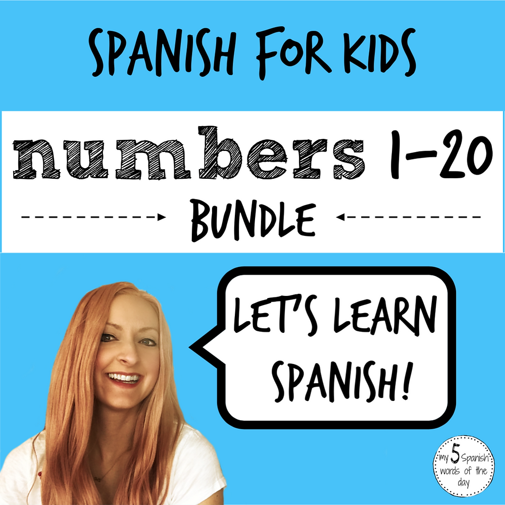 learning numbers in Spanish