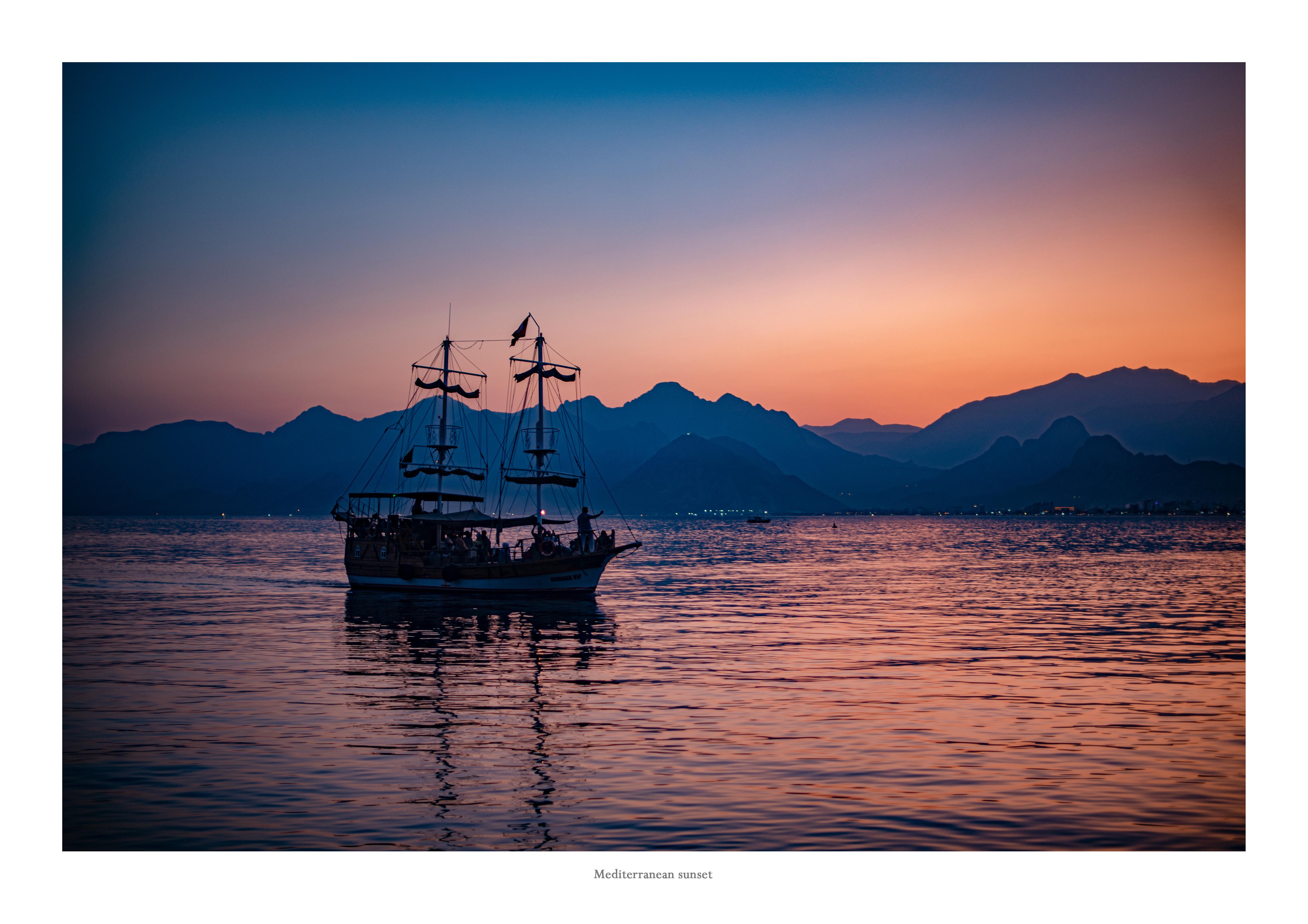 Mediterranean Sunset_