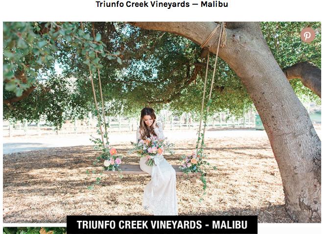 Best Outdoor Wedding Venues LA