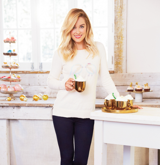 Lauren Conrad Holiday Shoot