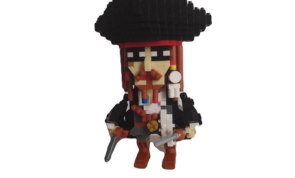 Figurine Pirate jack sparrow