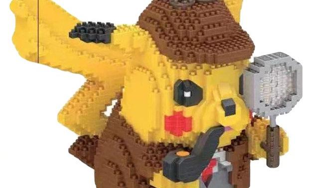 Figurine Pikachu détective
