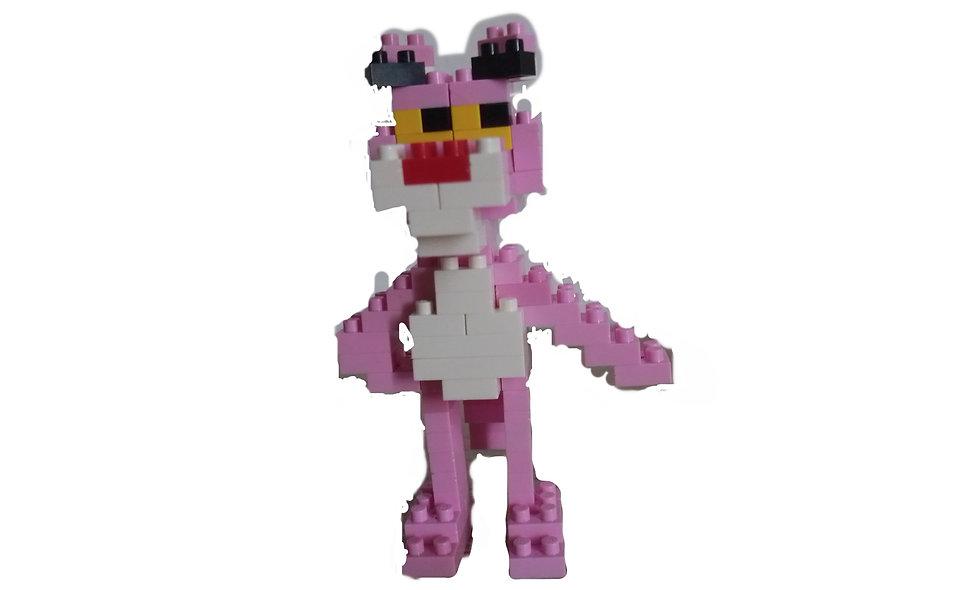 Figurine panthère rose