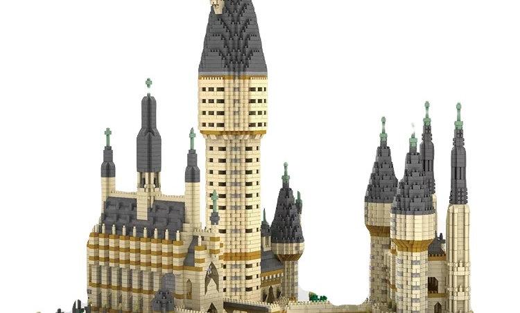 Figurine chateau (harry potter)