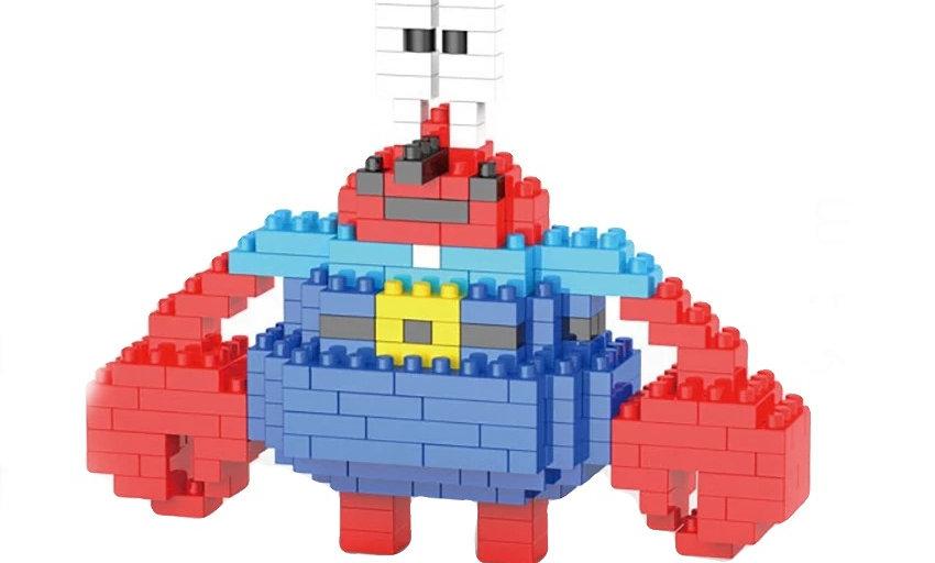 Figurine M crabe