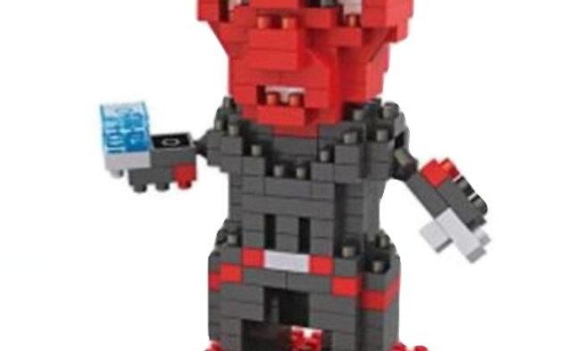 Figurine Crane rouge