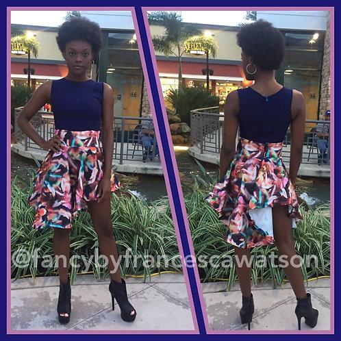 3D skirt and Crop top