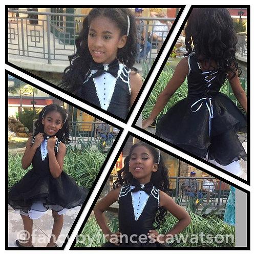 Tuxedo Pageant Dress