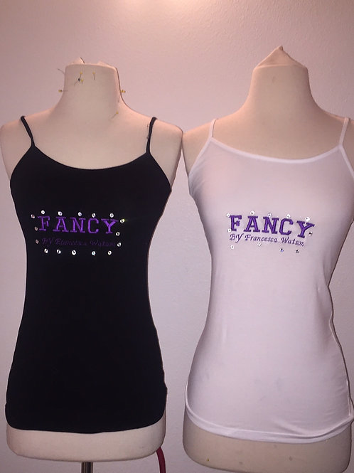 Embroidered Bling Logo Brand TANK