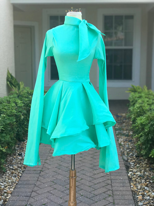 Touch of class in tiffany greenblue