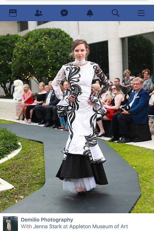 The Abstract dress