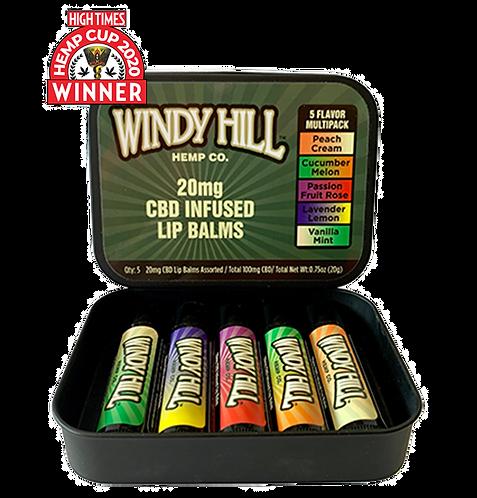 CBD Lip Balm 20mg- Variety Pack