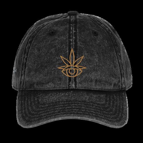 Acid Wash Eyecon Dad Hat