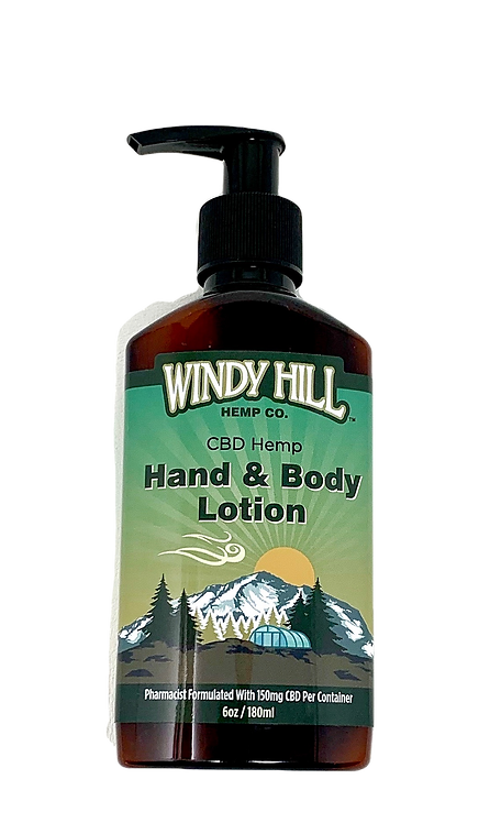 Solventless CBD Hand & Body Lotion
