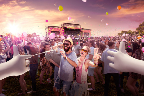 Agency: DDB - Budapest  Client: Budapest Music Festival  Photo Editing & Retouching: Junior Arcoverde