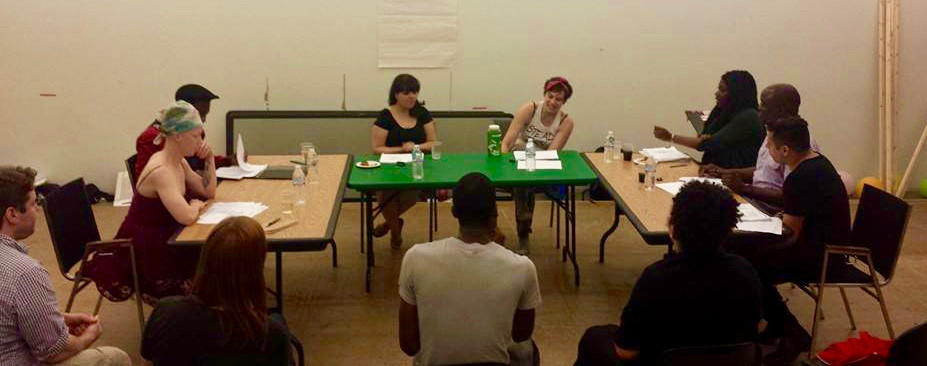 A Reading of Pillowman with a Diverse Cast