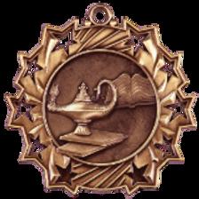GRADUATE Ten Star Medal