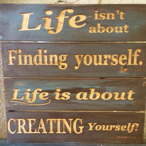 Life..Finding Yourself
