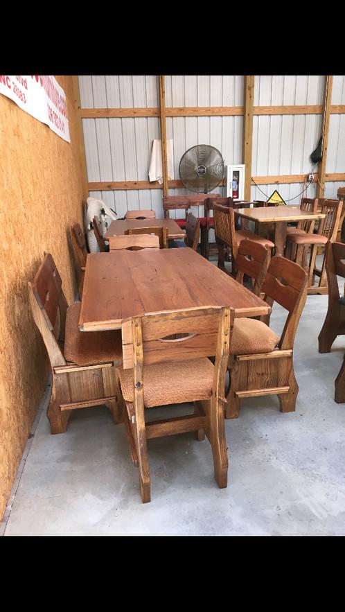 Jb custom wood dining sets home callanan discount