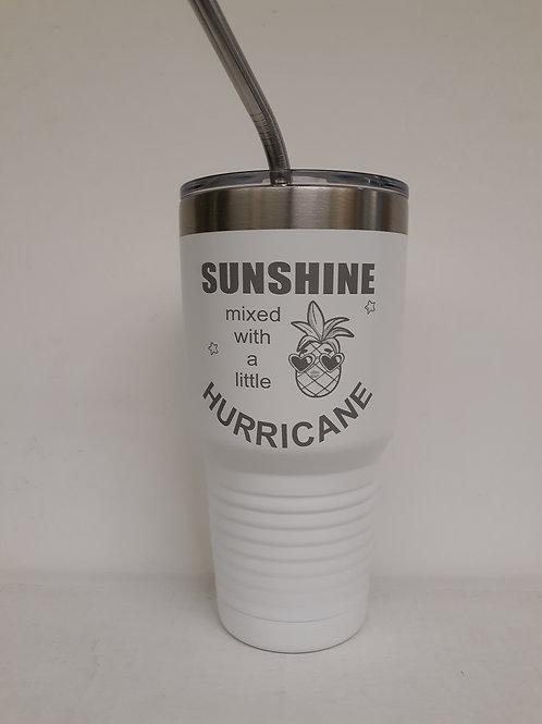 Sunshine/Huricane 30 oz Tumbler